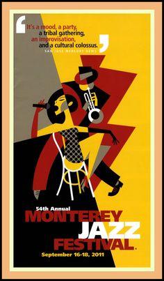 Monterey Jazz Festival #jazz #music #posters
