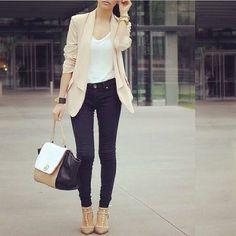 Love this casual chic outfit