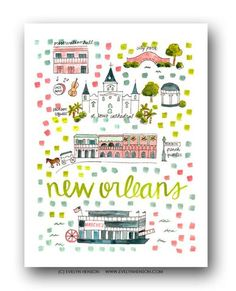 Collect all your favorite places! www.evelynhenson.com