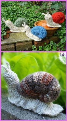 Amigurumi Snail Crochet Free Patterns