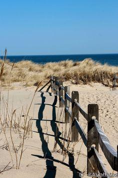 Cape Cod Beach Fence by KAVphotos on Etsy