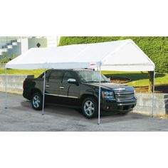 Quality Car Canopy to Protect the Car - Decorifusta Greenhouse Kitchen, Outdoor Greenhouse, Cheap Greenhouse, Outdoor Screens, Home Greenhouse, Greenhouse Effect, Greenhouse Gases, Greenhouse Ideas, Carport Covers
