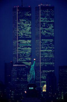 World Trade Center. World Trade Center, New York - Never Forget. World Trade Center, Trade Centre, 11 September 2001, New York City, Ville New York, New Architecture, I Love Ny, City That Never Sleeps, God Bless America