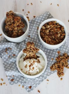 Gingerbread Granola - A BEAUTIFUL MESS