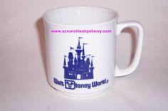 Walt Disney World Cinderella CastleTea Coffee Mug Vintage