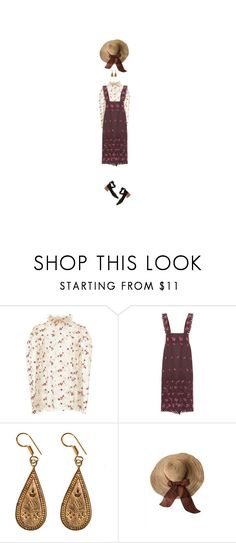 """""""sunlight seeps in"""" by aboutadaughter ❤ liked on Polyvore featuring LUISA BECCARIA, Urbiana and Mari Giudicelli"""