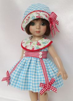 """PATSY'S OLD-FASHIONED DELIGHT OUTFIT! FOR 10"""" ANN ESTELLE, ETC.MADE BY SSDESIGNS"""