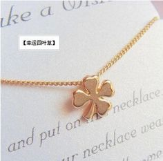 min $ 7 2015 Hot-sell fashion Personality simple golden clover four leaves necklace clover four leaves necklace♦️ SMS - F A S H I O N 💢👉🏿 http://www.sms.hr/products/min-7-2015-hot-sell-fashion-personality-simple-golden-clover-four-leaves-necklace-clover-four-leaves-necklace/ US $0.45