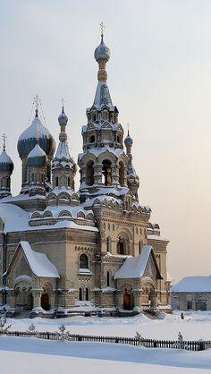 redeemer_cathedral_village_kukoba_yaroslavl_region_church_winter_snow_cold_russia