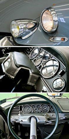 "Citroën DS ""Tissier""sportier version of the Decapo."
