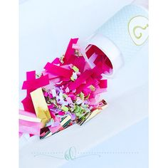 Gender Reveal Confetti Poppers on Etsy, $4.75