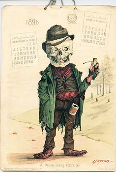 Antikamnia calendar 1898