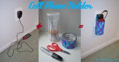 DIY Holder for Charging Cell Phone - Smart Girls DIY