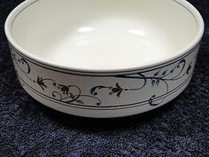 Mikasa Intaglio Annette CAC29 Cereal Bowls FOUR - NEW IN BOX - GREAT DEAL!