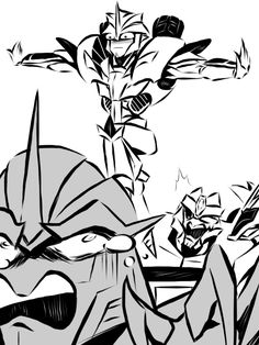 draw the squad XD Transformers Knockout, Transformers Memes, Transformers Decepticons, Transformers Bumblebee, Trance, Funniest Pictures Ever, Transformer 1, Transformers Collection, Villainous Cartoon