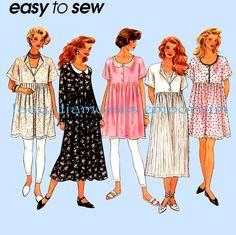 Simplicity 8871 Womens Raised Waist Babydoll by ladydiamond46