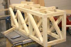 Industrial Light Fixture Simple Tutorial Chandeliers Wood Lamps