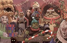 Star Wars Holiday Card