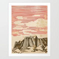 Carpathian mountains Art Print by Robert Farkas - $18.00