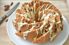 Ellouisa: Speculaascake Pie Cake, No Bake Cake, Cake Recept, Cooking Cake, Bakery Cakes, Cake Cookies, Cupcakes, Cookie Desserts, Caramel Apples