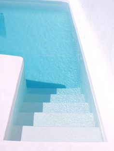New stairs outdoor design swimming pools 30 Ideas Jacuzzi, Exterior Design, Interior And Exterior, Blue Pool, Pool Backyard, Dream Pools, Blog Deco, Pool Houses, Contemporary Houses