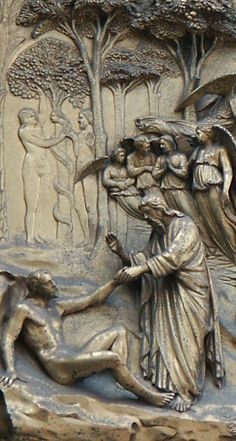 Gates of Paradise by Ghiberti, Florence Baptistry