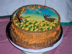 Deer Hunter's Birthday  on Cake Central