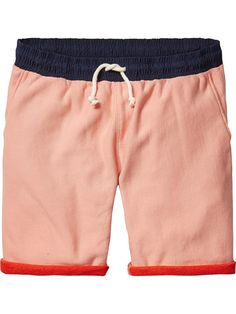 Sweat Shorts With Contrast