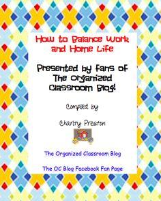 FREE Balancing Home and Work Life eBook