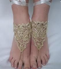 crochet barefoot sandals free pattern - Google Search | See more about Crochet Barefoot Sandals, Sandals and Doilies.