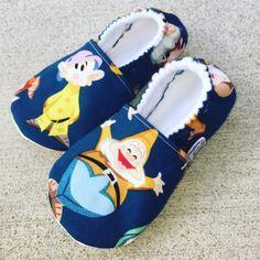 Buy Now Kiddo Kicks // Baby Booties in The Seven Dwarves Dwarfs...