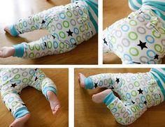 Baby pants sewn by Grønn :)