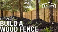 A wood fence adds privacy and improves security while giving your landscape a traditional look. Here are step-by-step instructions for laying out and building a shadowbox wood fence.