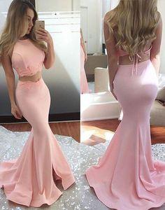 Two Pieces Prom Dress,Long Prom Dresses,Charming Prom Dresses,Evening Dress Prom Gowns, Formal Women Dress,prom dress,X22