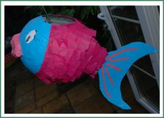 Red Ted Art's Blog » Blog Archive How to.. make a Paper Mâché Piñata Fish! » Red Ted Art's Blog