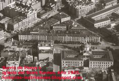 Barrio de Pozas... en su lugar se levantó el Corte Inglés de Princesa. Foto Madrid, Old Pictures, Empire State Building, City Photo, Spanish, San, Facebook, Google, Black