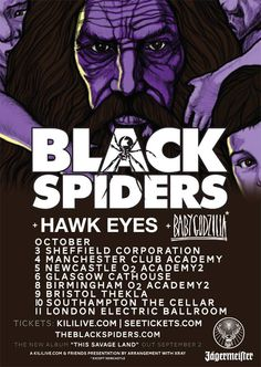 Review: Black Spiders @ Manchester Club Academy [Live] - #AltSounds