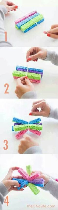 How To Make Sponge Balls For Water Fights In The Summer
