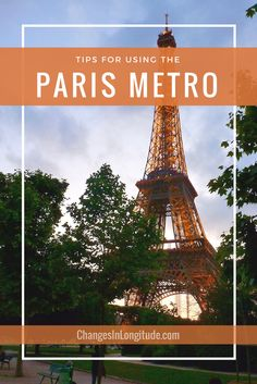 Travel to Paris and navigate the Metro like a pro--download a FREE map!
