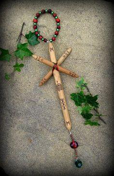 The Dream Weaver Holly Talisman Witchcraft Druid by WytchenWood