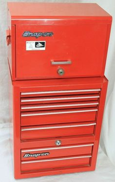 Snap On Kra 56 J Top Chest 6 Drawer Tool Box 26 Quot X 14 5 16