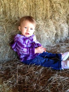 Brooklyn Newman, 11 months. Affectionately called 'Miss B'.  (Love how li'l ones so often look so much like their dads.)