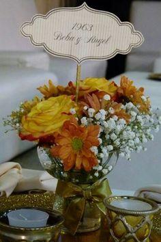 1000 images about decoracion mesa on pinterest mesas for Decoracion 40 aniversario de bodas