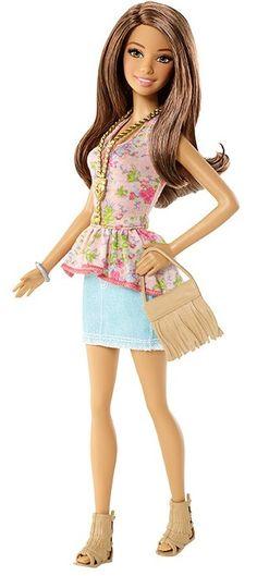 Barbie Fashionistas Doll- Teresa 2015