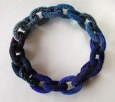 Yael Krakowski, Blue Chain Necklace