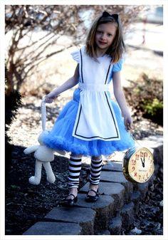Child Tutu Alice Costume - Kids Alice in Wonderland Halloween Costumes