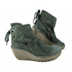Fly London Yama Wedge Ankle Boot