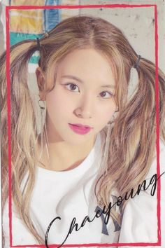 """Twice-Chaeyoung """"Wake Me Up"""" Lucky Draw Sticker"""