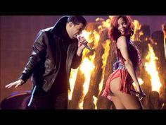 Rihanna and Drake...  Take Care.  Looove this song...so beautiful...