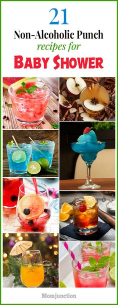 21 Yummy, Non-Alcoholic Punch Recipes For Baby Shower - Her loved ones and friends! What else would a mother-to-be want at her baby shower? Well, food and - Baby Shower Brunch, Baby Shower Cakes, Baby Shower Drinks, Fiesta Baby Shower, Baby Shower Gifts, Non Alcoholic Drinks For Baby Shower, Baby Shower Cake Sayings, Baby Shower Menu, Shower Bebe